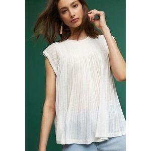 Akemi + Kin White Flowy blouse